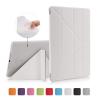 """AppleKing Védő borító puha műanyagból készült hátsó oldallal Apple iPad 9.7"""" (2017 / 2018) / iPad Air - fehér"""