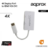 Approx appc37 displayport - hdmi/vga/dvi adapter