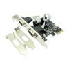 Approx PCI Express kártya 2 db soros porttal
