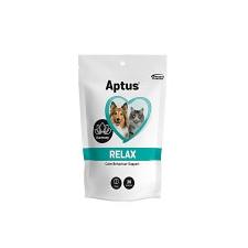 Aptus Relax nyugtató rágótabletta 30db macskafelszerelés