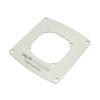 Aquacomputer beépítőblende filternek rozsdamentes acélból  80 mm /34025/