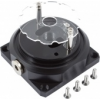 Aquacomputer Replacement base aqualis base for pump adapters with fountain effect /34086/