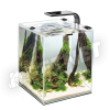 AquaEl Shrimp Set Smart LED 30 Fekete 30x30x35cm