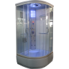 Aqualife Brill 8810A fehér hidromasszázs zuhanykabin 90x90x221 cm