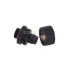 Aquatuning 16/10mm compression fitting G1/4 - recés- matte fekete