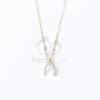 Arany bevonatos nyaklánc egyedi medállal jwr-1376