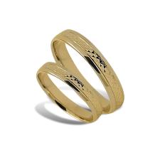 Arany férfi karikagyűrű - A40433S/F/68 gyűrű