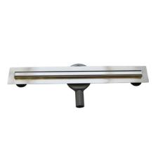 Arezzo 500 mm-es keskeny rozsdamentes acél folyóka AR-500K fürdőszoba kiegészítő