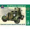 Ark Models BA-20 Russian light armored car makett Ark Models AK35004