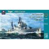 """Ark Models HMS """"Tiger"""" British light cruiser hajó makett Ark Models AK40012"""