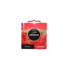"""AROMA CAR Autóillatosító, 40 g,  """"Organic strawberry"""" illatosító, légfrissítő"""