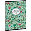 Ars Una Chirping Garden szótárfüzet A/5