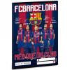 Ars Una FC Barcelona kockás füzet A/5-ös méretben