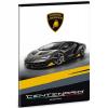 Ars Una Lamborghini Centenario prémium kockás füzet A/5