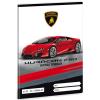 Ars Una Lamborghini Huracán vonalas füzet 4.osztályosoknak A/5