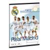 Ars Una Real Madrid 1902 világklasszis sima füzet A/5