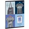 Ars Una Shirt 2 füzet négyzethálós A/5