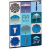 Ars Una Umbrella füzet vonalas A/4