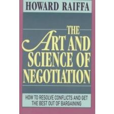 Art and Science of Negotiation – Raiffa idegen nyelvű könyv