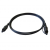 Art OPTICAL CABLE TOSLINK graphite 1M oem