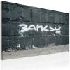 Artgeist Kép - Banksy: signature