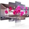 Artgeist Kép - Orchid egy visszafogott, háttér