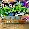 ArtGeist sp. z o o. Fotótapéta - Football Graffiti