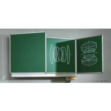 ASS Zöld, oldalszárnyas falitábla 200x120 cm iskolai kiegészítő