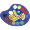 Astra Vízfesték -83216903- 12szín nagy gomb 30mm,palettán ASTRA 6db/csom