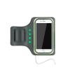 Astrum AB550 zöld vízálló sport telefontartó felkarra, önműködő LED világítással, 5,5&qu
