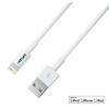 Astrum AC820 Apple iPhone 5/6/7 8pin 2M ligthning - USB adatkábel fehér, MFI engedéllyel A35520-Q