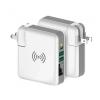 Astrum CW400 Prémium all in one utazó vezeték nélküli/hálózati töltő és power bank (6700mA