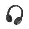 Astrum HT300 sztereó fekete bluetooth 4.2 összecsukható fejhallgató beepitett mikrofonnal, bőr