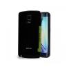 Astrum MC090 kártyatartós Samsung S6 EDGE hátlapvédő fekete