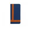 Astrum MC590 TEE PRO mágneszáras Samsung G920F Galaxy S6 könyvtok kék-barna