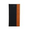 Astrum MC710 DIARY mágneszáras Apple iPhone 5G/5S/5SE könyvtok fekete-barna