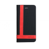 Astrum MC850 TEE PRO Huawei Y5 könyvtok fekete-piros