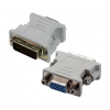Astrum PA240 DVI - VGA adapter fekete (passzív)