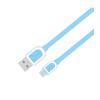 Astrum UD360 1M Micro USB bliszteres slim adatkábel kék