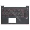 Asus 90NB04L3-R31HU0 gyári új magyar, fekete háttérvilágított laptop billentyűzet