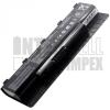 Asus N76V Series 4400 mAh 6 cella fekete notebook/laptop akku/akkumulátor utángyártott