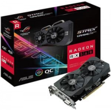 Asus Radeon RX 560 OC 4GB GDDR5 128bit PCIe (ROG-STRIX-RX560-O4G-GAMING) videókártya