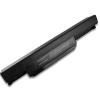 Asus X53BY 6600 mAh 9 cella fekete notebook/laptop akku/akkumulátor utángyártott