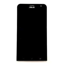Asus ZE550ML Zenfone 2 gyári lcd kijelző érintőpanellel fekete mobiltelefon, tablet alkatrész