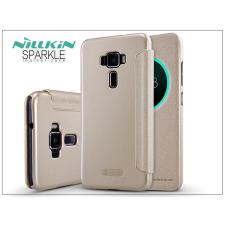 Asus Zenfone 3 (ZE552KL) oldalra nyíló flipes tok - Nillkin Sparkle - gold tok és táska