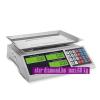 Asztali mérleg - Árszorzós asztali mérleg- hálózati és akkus működtetés, max:60kg