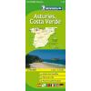 Asztúria és a Costa Verde térkép - Michelin 142