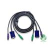 ATEN Console kábel PS/2 KVM-switch 2 m (2L-1001P/C)