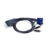 ATEN CS-62U 2 portos KVM switch