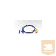 ATEN KVM Console kábel ACS12XX-hez USB 1,8 m kábel és adapter